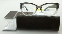 Gucci Women's Optical Eyeglass Frames Clitter Grey Case Asia
