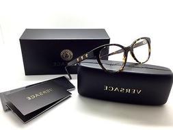 Versace Women Tortoise Rounded New Eyeglasses MOD 3250 108 5