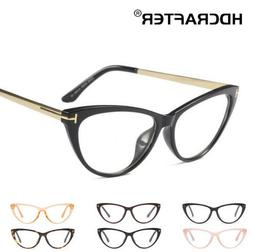 Women's Cat's Eye Myopia Eyeglasses Frames Full Frame Opti