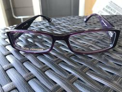 Michael Kors Womens MK232 Eyeglasses 505 Plum Purple Demo Le