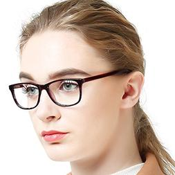 OCCI CHIARI Women's Rectanguar Glasses Frame Fashion Eyewe