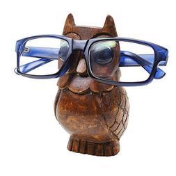 storeindya Nose Eyeglass Holder Stand/Wooden Spectacle Holde